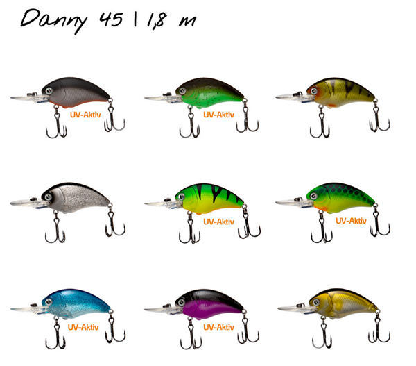 Zeck Danny 4,5cm F 1,8m