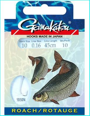 Gamakatsu Haken 1050N Rotauge 70cm