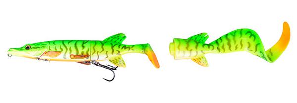 3D Pike Hybrid 17cm - Firetiger