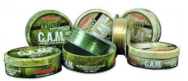 Starbaits C.A.M. Line Weedy Green 0,35mm/ 1000m