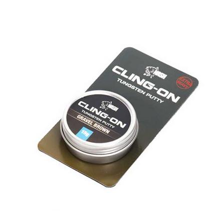 Nash Cling-On Tungsten Putty 15g Dark Silt