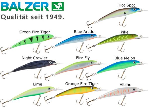 Balzer MK UV Booster Wobbler 9cm