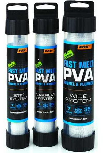 Fox Fast Melt PVA Funnel & Plunger 35mm / 7m