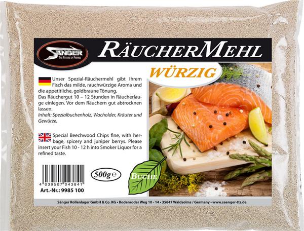 Sänger Räuchermehl würzig 500g