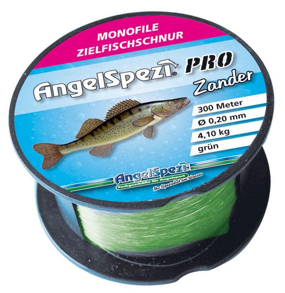AngelSpezi Pro Zielfischschnur Zander 300m / grün