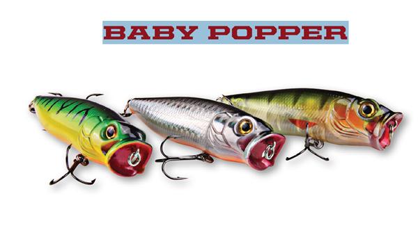 DAM Effzett Baby Popper 80mm