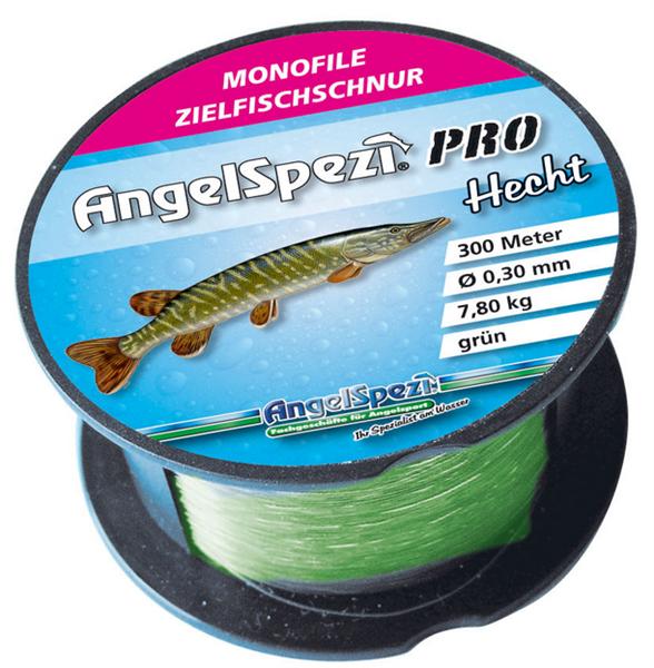 AngelSpezi Pro Zielfischschnur Hecht 300m / grün