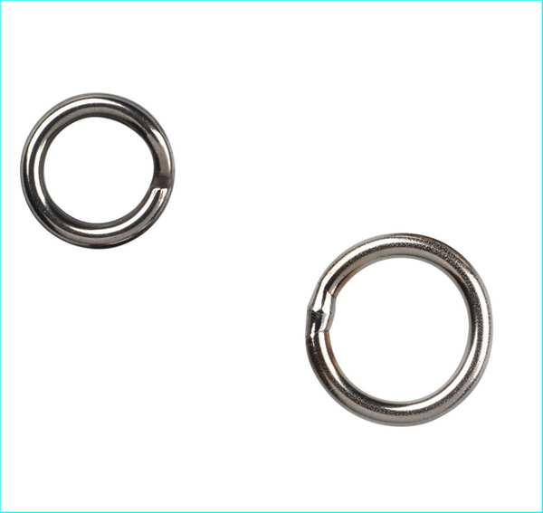 Gamakatsu Hyper Split Ring (Stainless) / Size 6 / 60kg / Qty 8