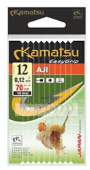 Kamatsu EasyGrip Aji Haken mit Vorfach