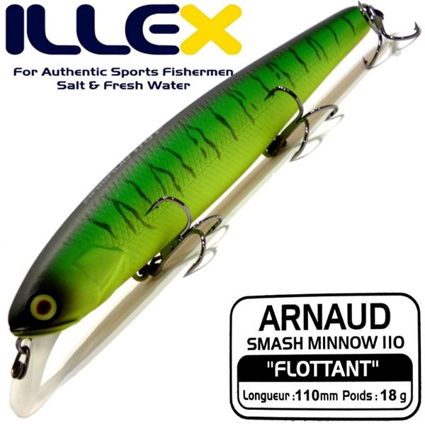 ILLEX Arnaud 110 F Mat Tiger