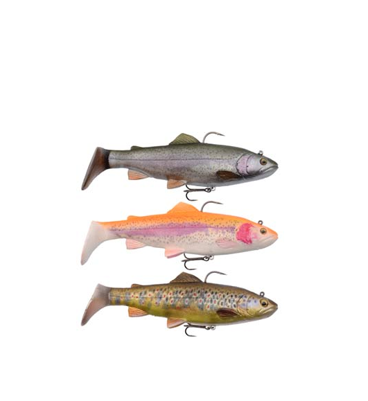 Savage Gear 4D Trout Rattle Shad 12,5cm 35g