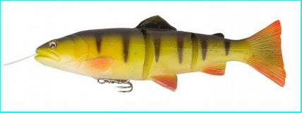 Savage Gear Line Thru Trout 25cm - Perch 193g