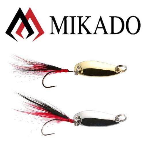 Mikado Trout Ice Spoon mit Feder 1,5g/2,5g