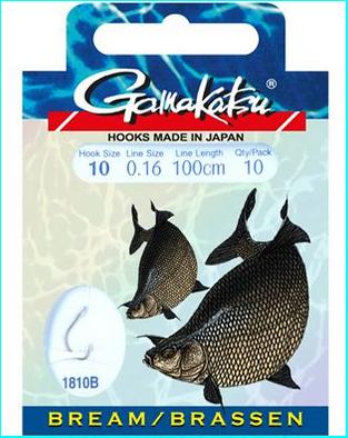 Gamakatsu Haken 1810B Brassen 100cm