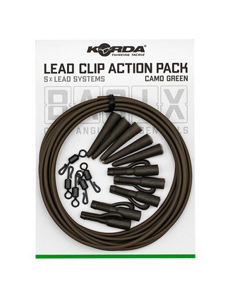 Korda Basix Lead Clip Action Pack