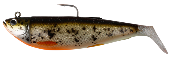 Savage Gear Cutbait Herring 20cm 270g Deciving 3D Burbot (Glow+Uv)
