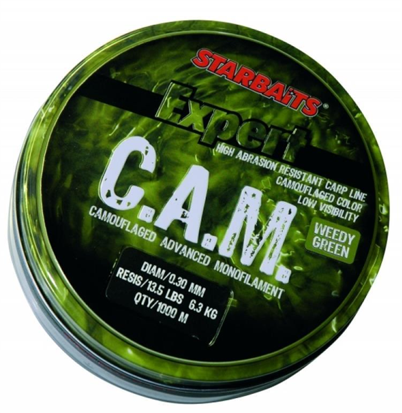 Starbaits C.A.M. Line Weedy Green 0,30mm/1000m