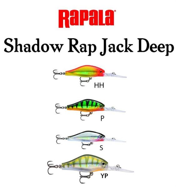 Rapala Shadow Rap Jack Deep 5cm