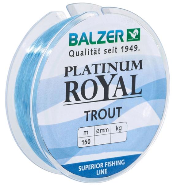 Balzer Platinum Royal Trout Blau 150m