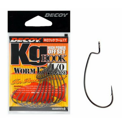 Decoy High Power Offset Hook Worm 17